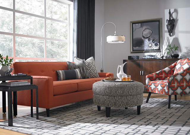 skylar sofa by bassett furniture contemporary living