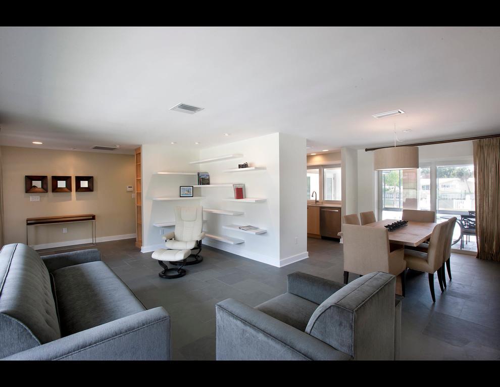 sleek european style home with modern conveniences