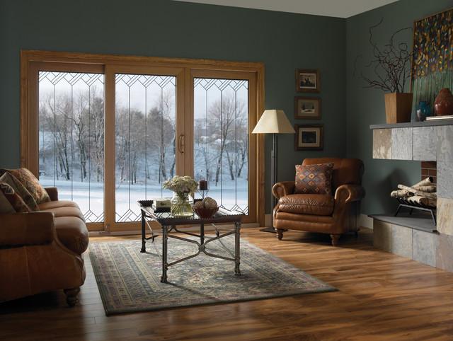 Sliding Patio Door Contemporary Living Room By Ply Gem