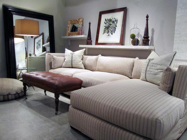 Quatrine Chicago eclectic sectional sofas los angeles