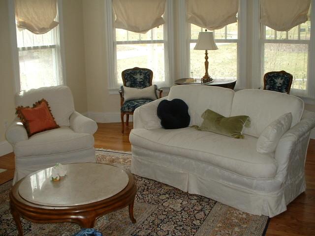 Slipcovers traditional-living-room