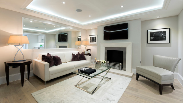 sloane square apartment interior design contemporary living room