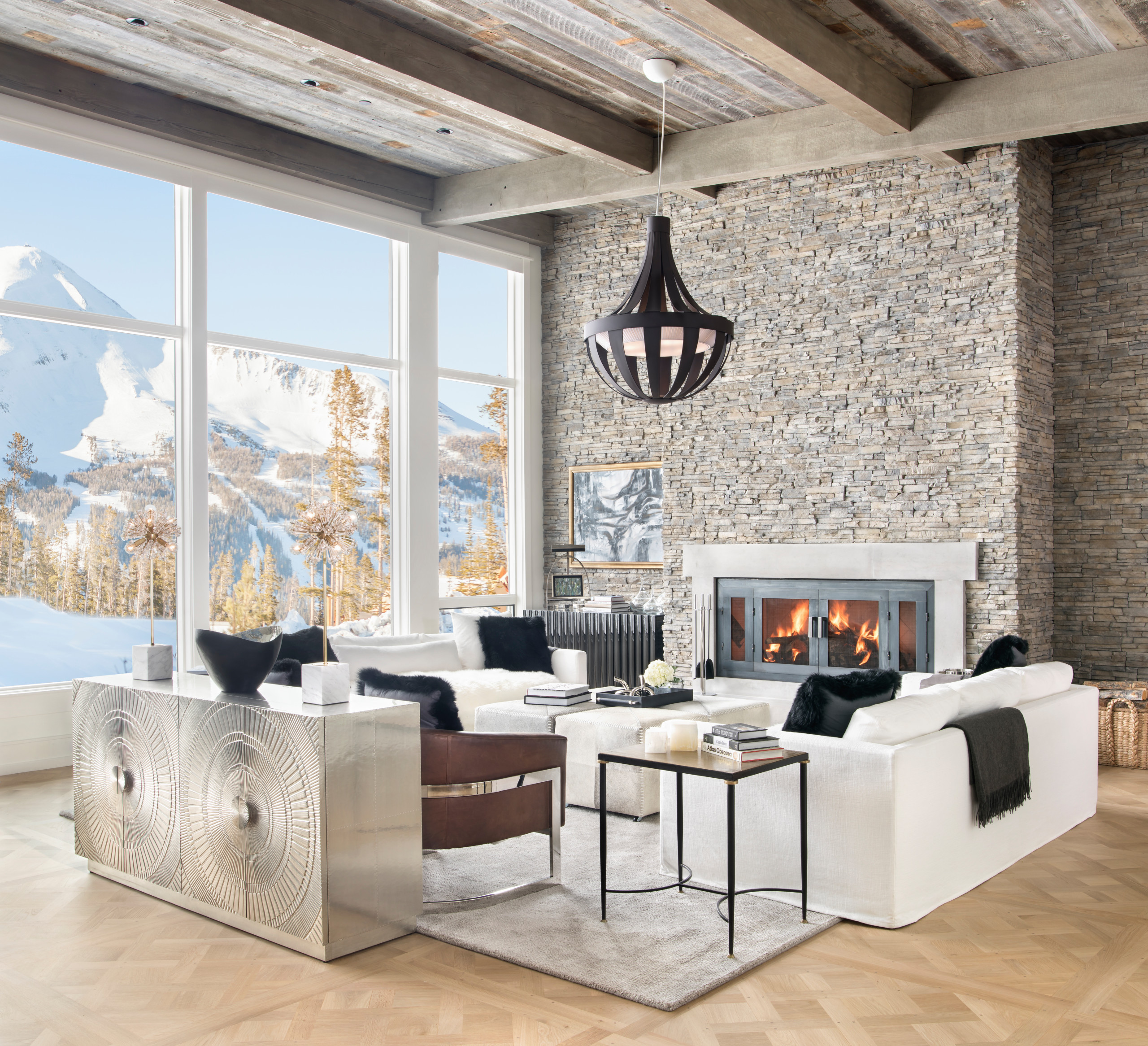 75 Beautiful Rustic Living Room Pictures Ideas January 2021 Houzz