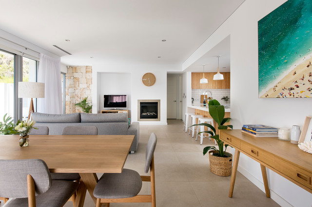 Small beach house - Modern - Living Room - perth - by ...