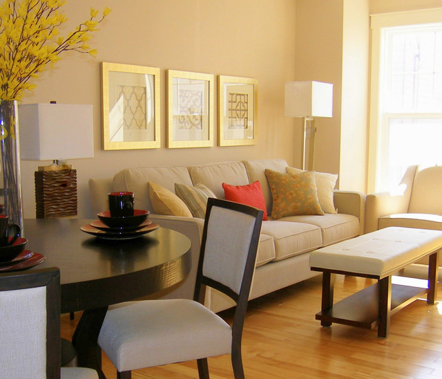 Small condo livingroom modern living room other for Living room decor ideas houzz
