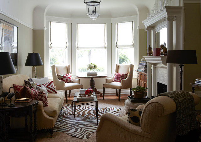 Small Cow Hollow Apartment, San Francisco - Traditional - Living ...