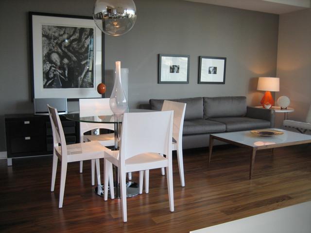 Small Downtown Condo contemporary-living-room