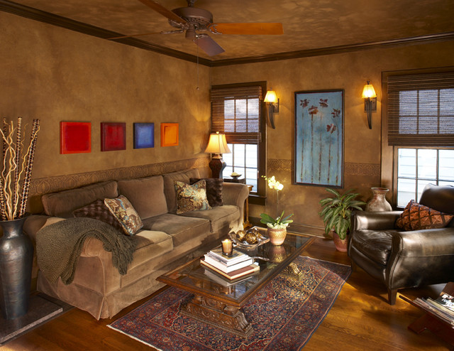Small Eclectic Rooms Eclectic Living Room Dallas
