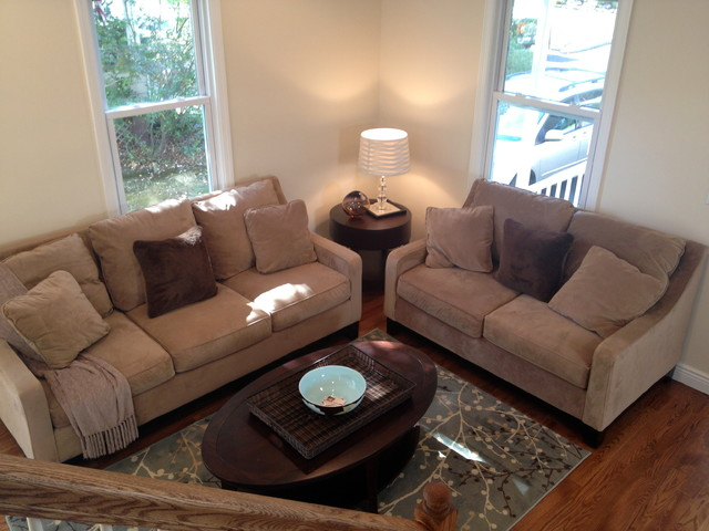 rehabbed small house design traditional-living-room