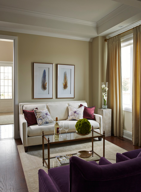 Small living dining room modern living room toronto for Houzz small living rooms