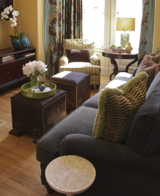 Small living room big on character for Eclectic small living room design