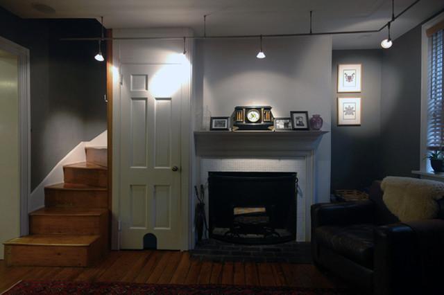 Small Philadelphia Row House Renovation Traditional