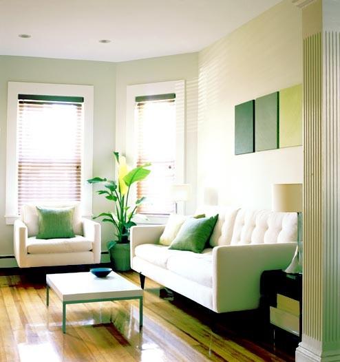 Modern Small House Interior Design Photos: Living Room