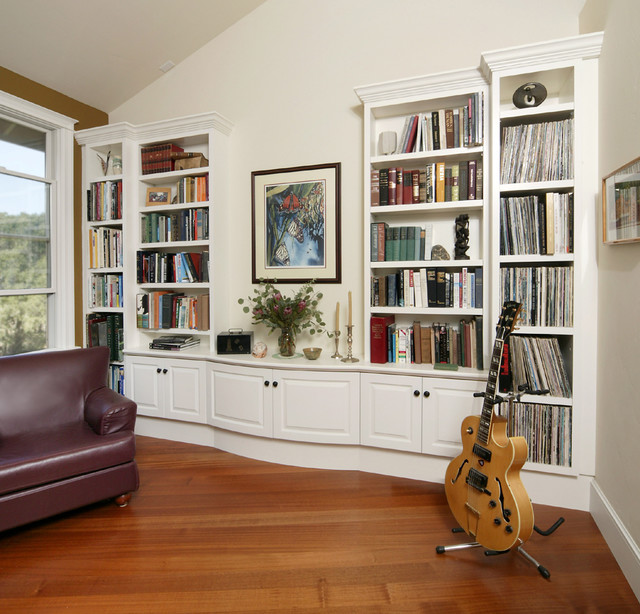 Small space transitional for Houzz small living rooms