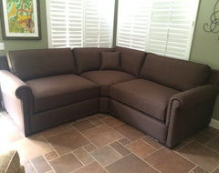 SMALL SPACES - SOFA OR SECTIONAL SOLUTIONS FOR SMALL SPACES living-room