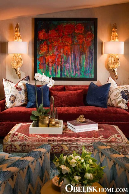 Small Warm Cozy Living Room Traditional Living Room St Louis
