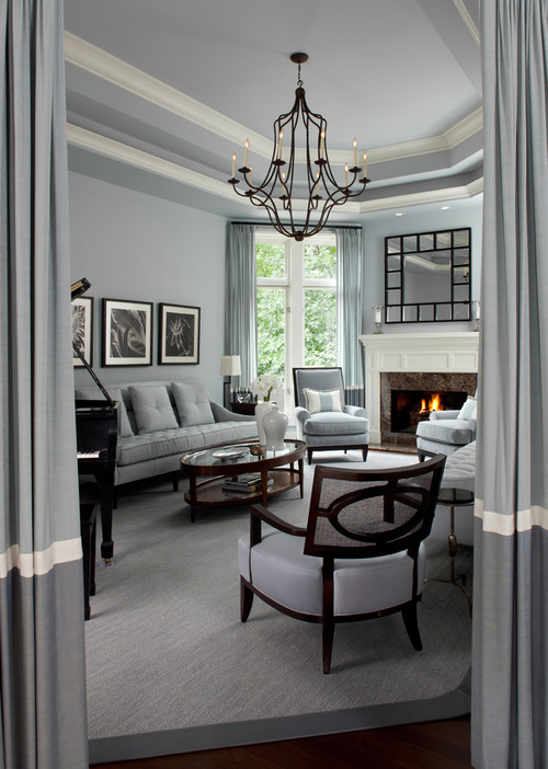 Wall Colour Inspiration: 10 Gray Rooms Inspiration Part 2