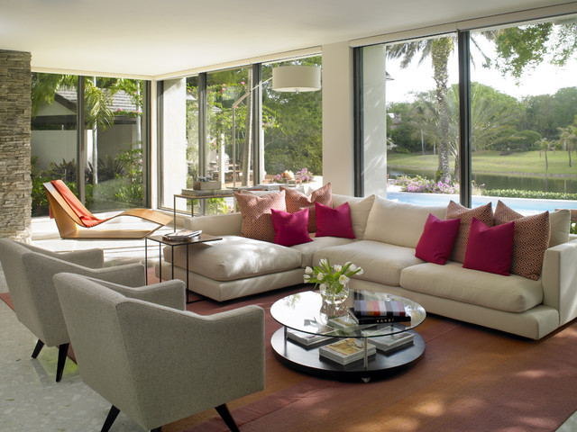 SNAPPER CREEK contemporary-living-room