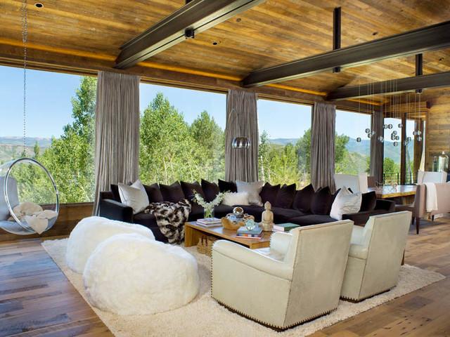 Snowmass, Colorado modern-living-room