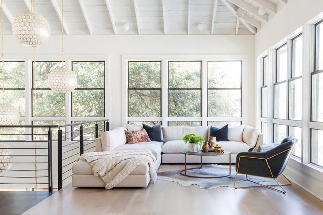 Soefer Studio contemporary-living-room