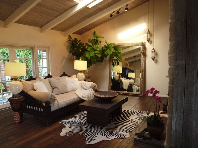 Sofa and Daybed - Mediterranean - Living Room - Los Angeles - by ...