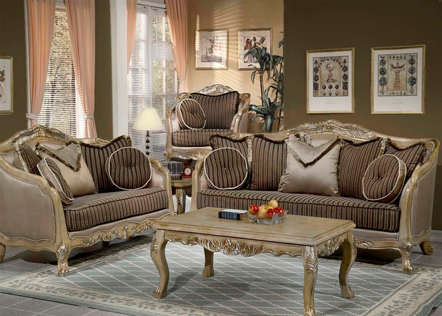 Sofa set traditional living room los angeles by uno furniture - Living room furniture traditional ...