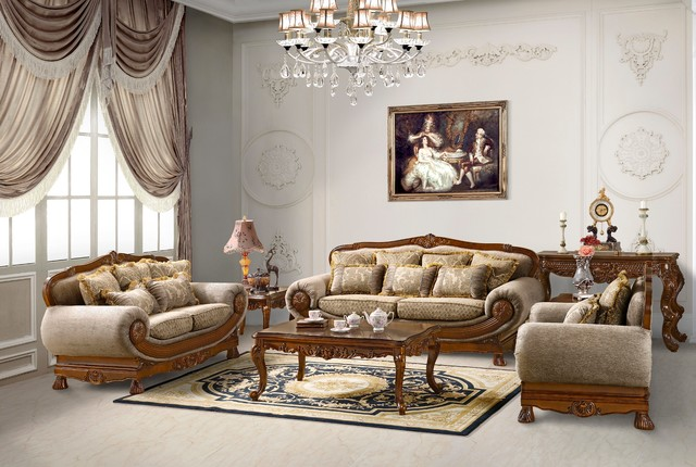 sofa set traditional living room by uno furniture