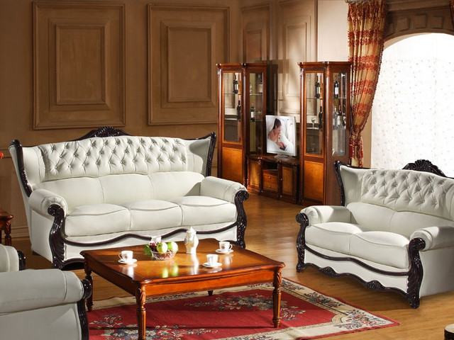 sofa set - traditional - living room - los angeles -vons furniture