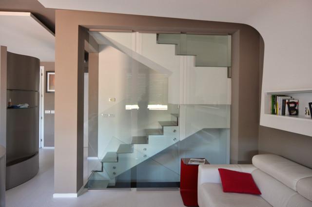 scale soggiorno - 28 images - soggiorno con scala a vista scala ...
