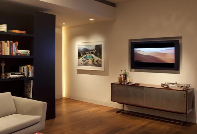 Soho Condominium Modern Living Room Other Metro By