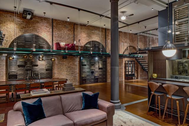 Soho Loft II - Moderno - Soggiorno - New York - di DHD Architecture ...