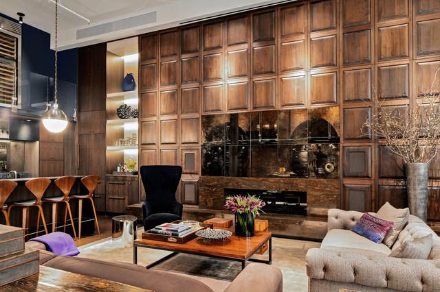 Soho Loft II modern-living-room