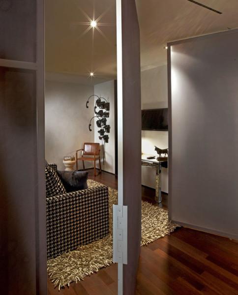 SoHo loft eclectic-living-room