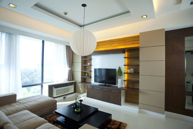 Sohu designs one bedroom condo unit at bellagio for 1 bedroom living room ideas