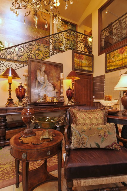 Solana Beach High End Furniture Store - Traditional - Living Room