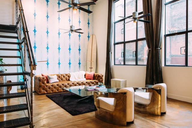 Soma Surfer Loft Industrial Living Room San