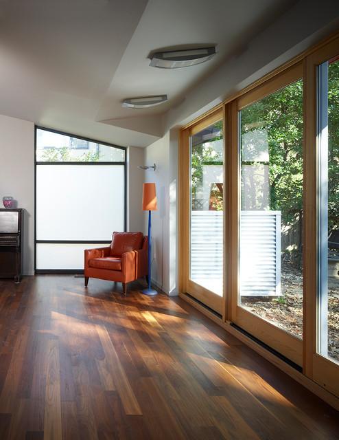 Somerset Modern Addition/Renovation modern-living-room