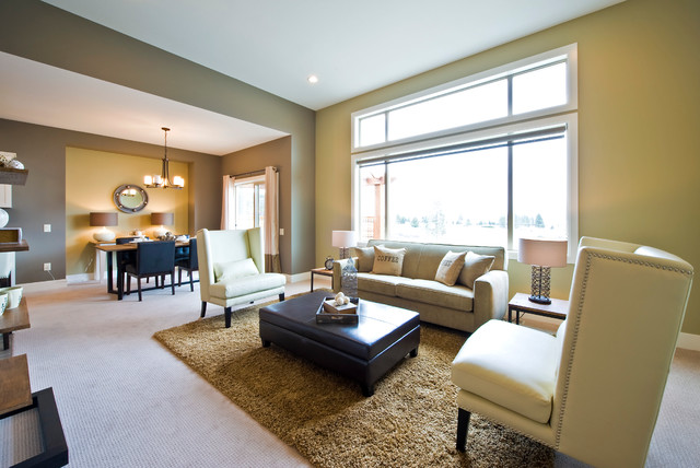 Sonoma Pines Show Home- ALAMEDA traditional-living-room