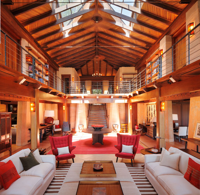 Sonoma Ranch eclectic-living-room