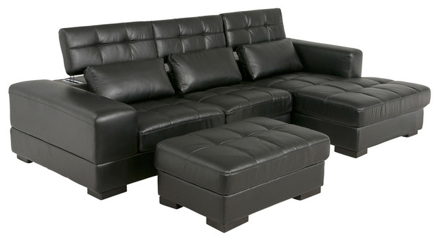 Sophia contemporary living room san diego by for Sectional sofa jeromes