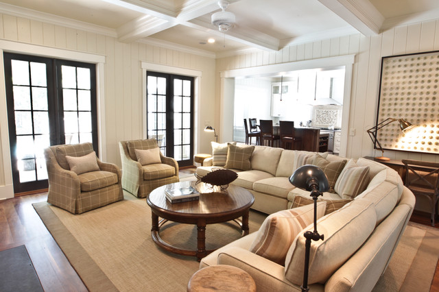 Sophisticated Beach   Beach Style   Living Room   Charleston   By Margaret  Donaldson Interiors