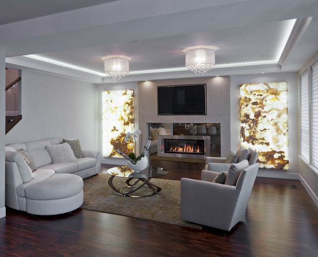 Sophisticated Contemporary Contemporary Living Room