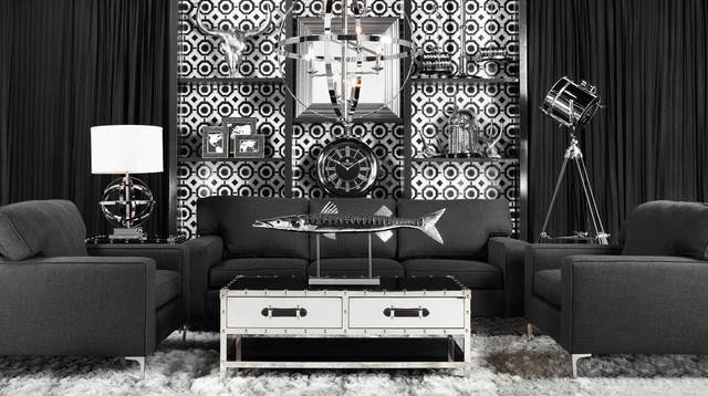 Z Gallerie Furniture U0026 Accessories. Sophisticated Suitor Modern Living Room