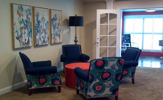 Sorority house 2 lincoln ne contemporary living for Carter wells interior design agency