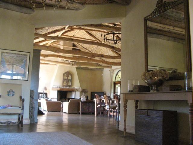 South African Farmhouse Farmhouse Living Room