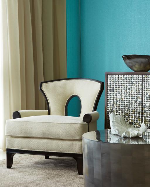 South Beach tropical-living-room