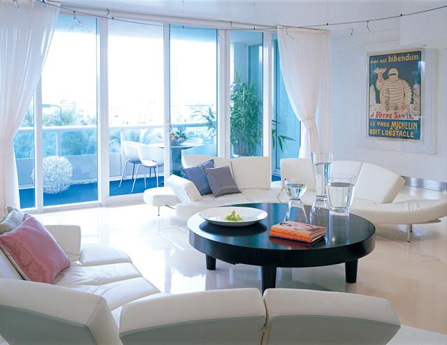 Modern Living Room by Nieto Design Group