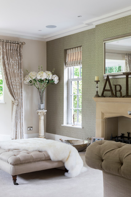 South Border Contemporary Living Room London By