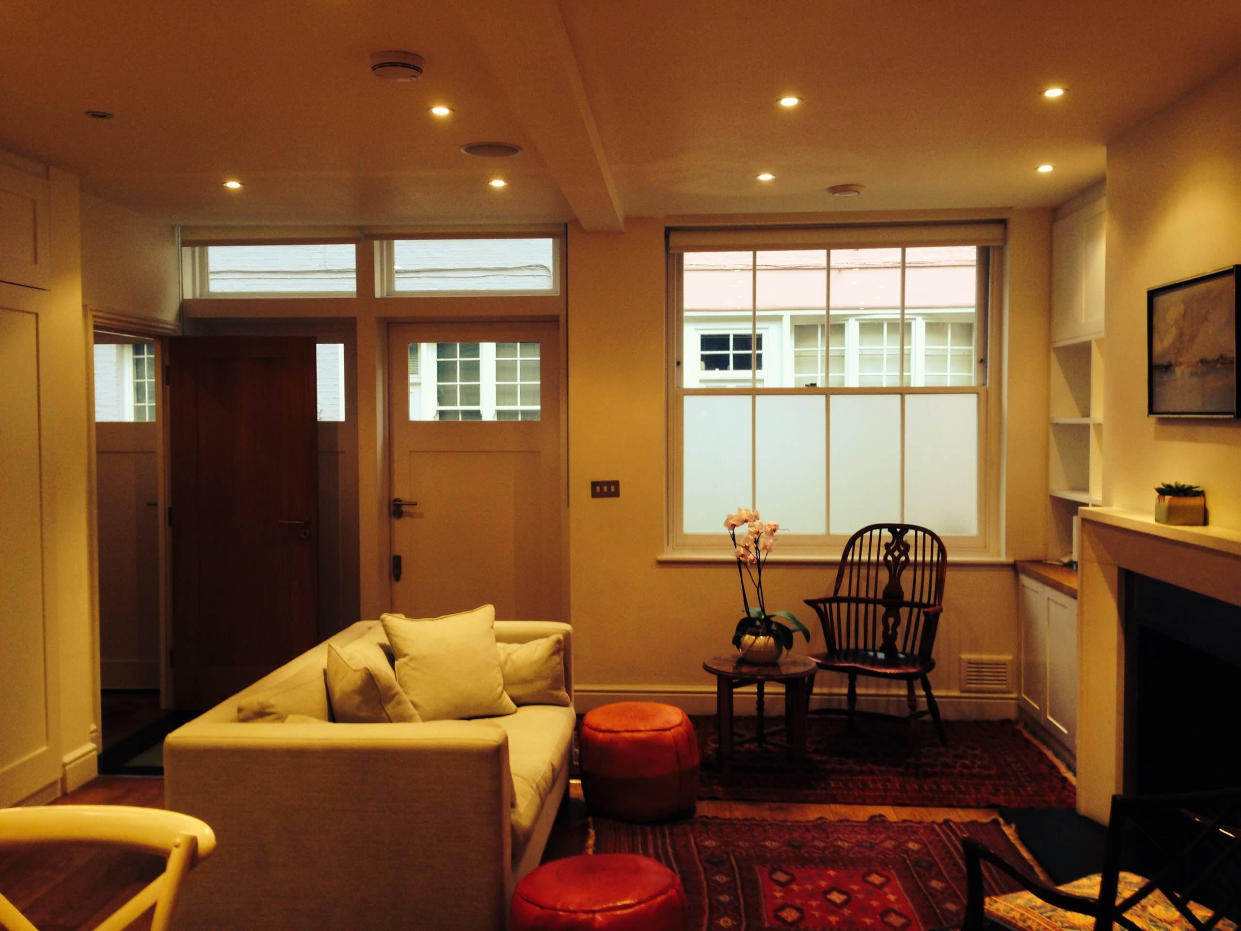 South Kensington, Mews Refurbishment and Basement