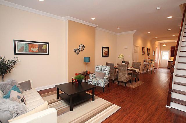 South Philadelphia/Newbold- Townhome Complete Renovation 17XX Morris Street traditional-living-room
